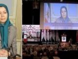 پيام رئيس جمهور برگزيده مقاومت ايران به کنوانسيون ايرانيان آزاده در برلين