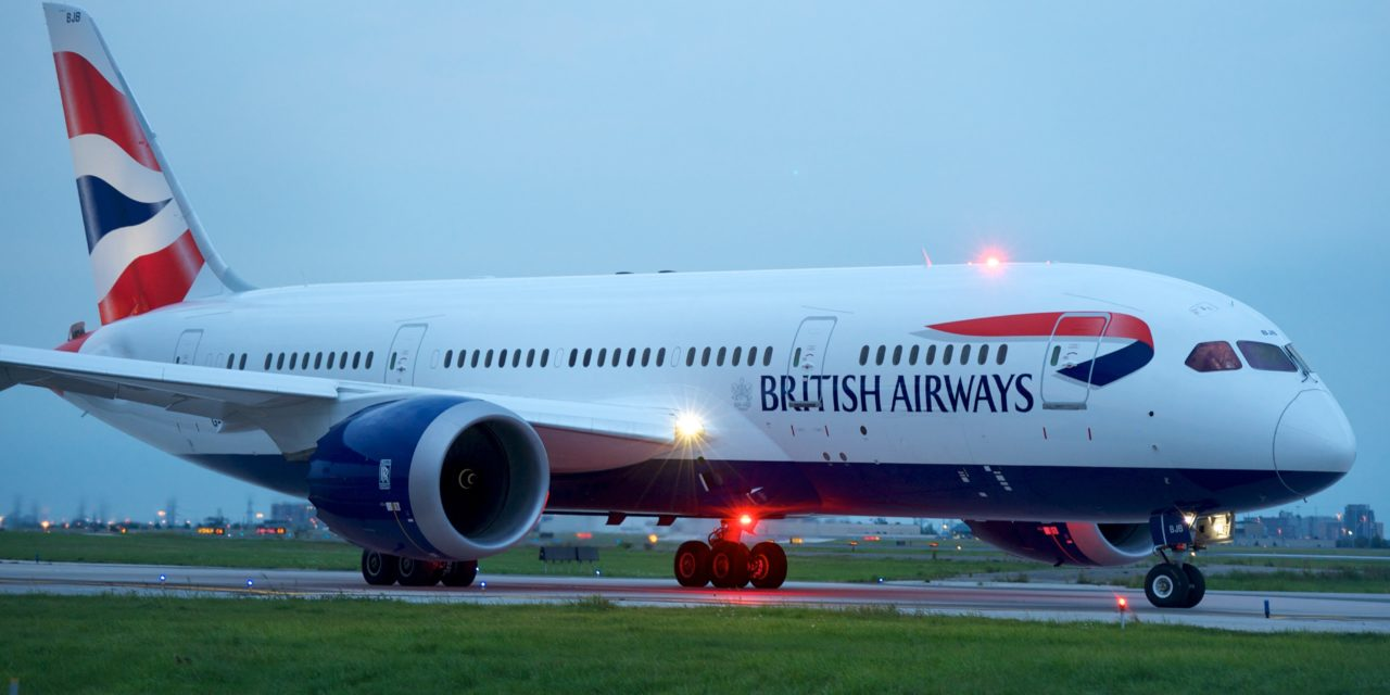 British Airways Boeing